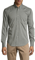 Naked & Famous Denim Button-Down Collar Slim Sportshirt