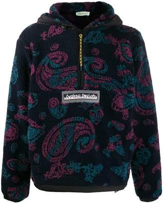 Aries paisley-print hoodie