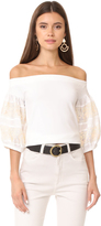 Free People Rock with It Top