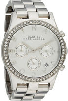 Marc by Marc Jacobs Henry Crystal Accented Watch