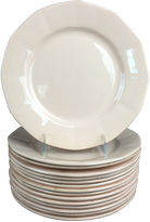 One Kings Lane Vintage French Salmon-Colored Plates, S/15