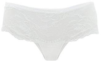 La Perla Brigitta Lace Short Briefs - White