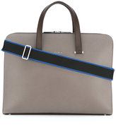 Furla Vulcano business tote - men - Calf Leather/Polyester - One Size