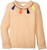 Billieblush Emebellished Sweater (Toddler/Kid) - Pale Pink - 8 Years