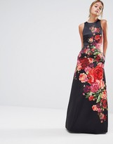 Ted Baker Marico Sleeveless Floral Print Dress