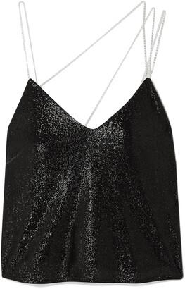 Mason by Michelle Mason Crystal-embellished Lurex Camisole