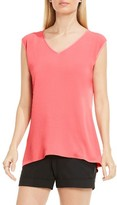 Vince Camuto Women's Mixed Media Top