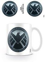 Marvel Marvel's Agents Of S.H.I.E.L.D. Logo Ceramic Mug, Multi-Colour