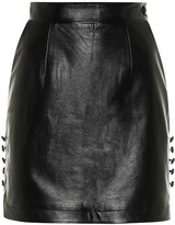 Thumbnail for your product : Matériel Tbilisi Faux leather miniskirt