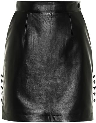 MATÉRIEL Faux leather miniskirt