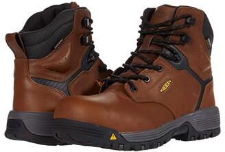 Keen Chicago 6 Waterproof (Carbon-fiber Toe) (Tobacco/Black) Women's Shoes