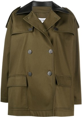 Loewe Double-Breasted Short Coat