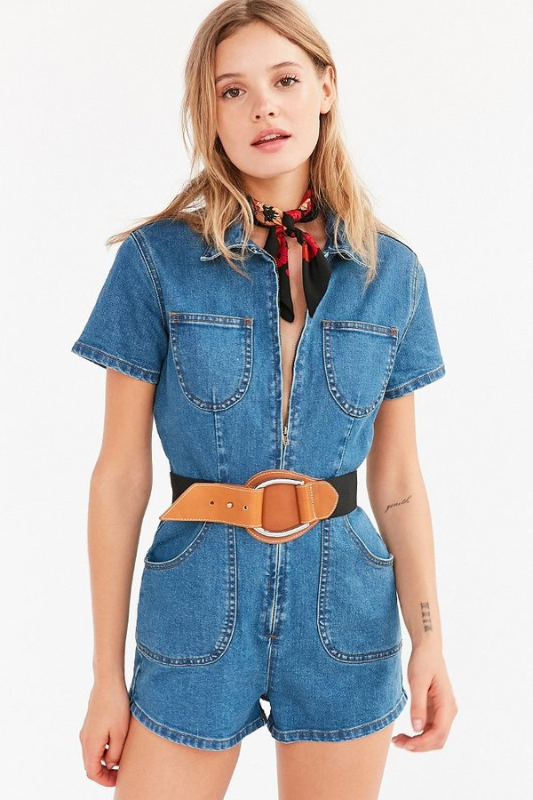 Urban Outfitters Elastic D-Ring Belt