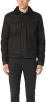 Calvin Klein Jeans Black Sheep Sherpa Trucker Jacket