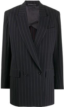 Paul Smith oversized pinstriped blazer