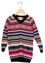 Gucci Girls' Fair Isle Wool Tunic