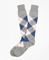 Brooks Brothers Argyle Over-the-Calf Socks
