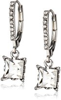 """Betsey Johnson Essentials"""" Square Drop Earrings"""