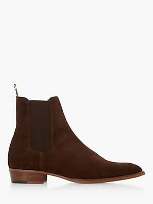 Bertie Marshall Suede Chelsea Boots, Brown