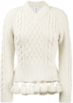 Rosie Assoulin Pom Pom Sweater