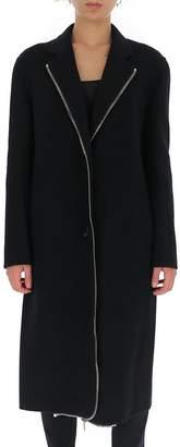 Alexander Wang Zipper Trim Straight Coat