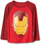 Gap Mad Engine© Iron Man© baseball tee