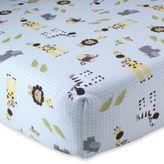 Lambs & Ivy Peek-a-Boo Jungle Crib Sheet