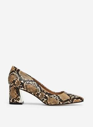 Dorothy Perkins Womens Multi Colour 'Daydream' Snake Print Court Shoes