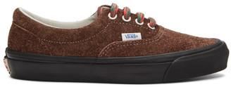 Vans Brown Hairy Suede OG Era LX Sneakers