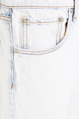 Rag & Bone Cropped Bleached Boyfriend Jeans