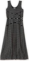 Calvin Klein Women's Maxi Striped Dress