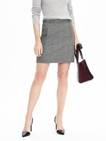 Banana Republic Double Front Pocket Skirt