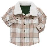 Gymboree Furry Shirt Jacket