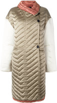 Isabel Marant quilted coat - women - Silk/Cotton - 36