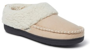 Dearfoams Women's Microsuede Clog Slipper, Online Only