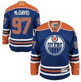 Reebok Connor McDavid Edmonton Oilers NHL Youth Premier Stitched Team Home Jersey