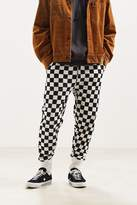 Urban Outfitters Terry Fleece Check Sweatpant
