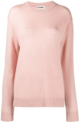 Jil Sander Knitted Long Line Jumper