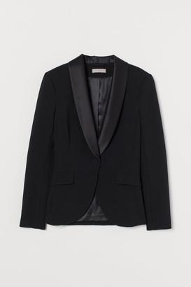 H&M Tuxedo Jacket - Black