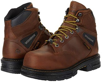 Wolverine Hellcat Ultraspring CarbonMAX 6 Work Boot (Tobacco) Men's Shoes