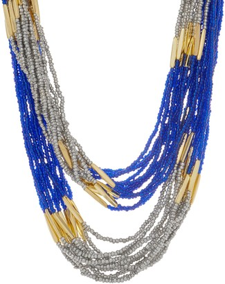 Linea By Louis Dell'olio by Louis Dell'Olio Multi Strand Long Bead Necklace