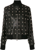 Diesel Black Gold Lilles studded jacket