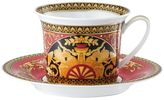 Versace Medusa Red Porcelain Tea Cup