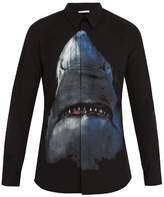 Givenchy Contemporary-fit shark-print cotton shirt