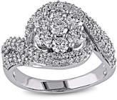 JCPenney MODERN BRIDE 2 CT. T.W. Diamond 14K White Gold Bridal Ring