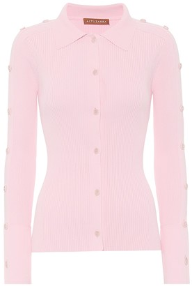 Altuzarra Jeffrey ribbed-knit cardigan