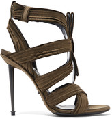 Tom Ford Pleated satin sandals