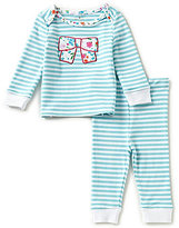 Kate Spade Baby Girls 3-9 Months Striped Bow-Applique Top & Pants Pajama Set