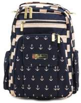 Ju-Ju-Be Legacy Be Right Back Backpack Style Diaper Bag in The Commodore