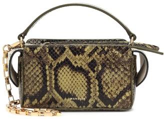 Wandler Yara Box leather shoulder bag
